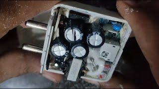 How to open REALME charger without damage #REPAIR VOOC CHARGER (Part 1) 65Watt 50Watt 30Watt
