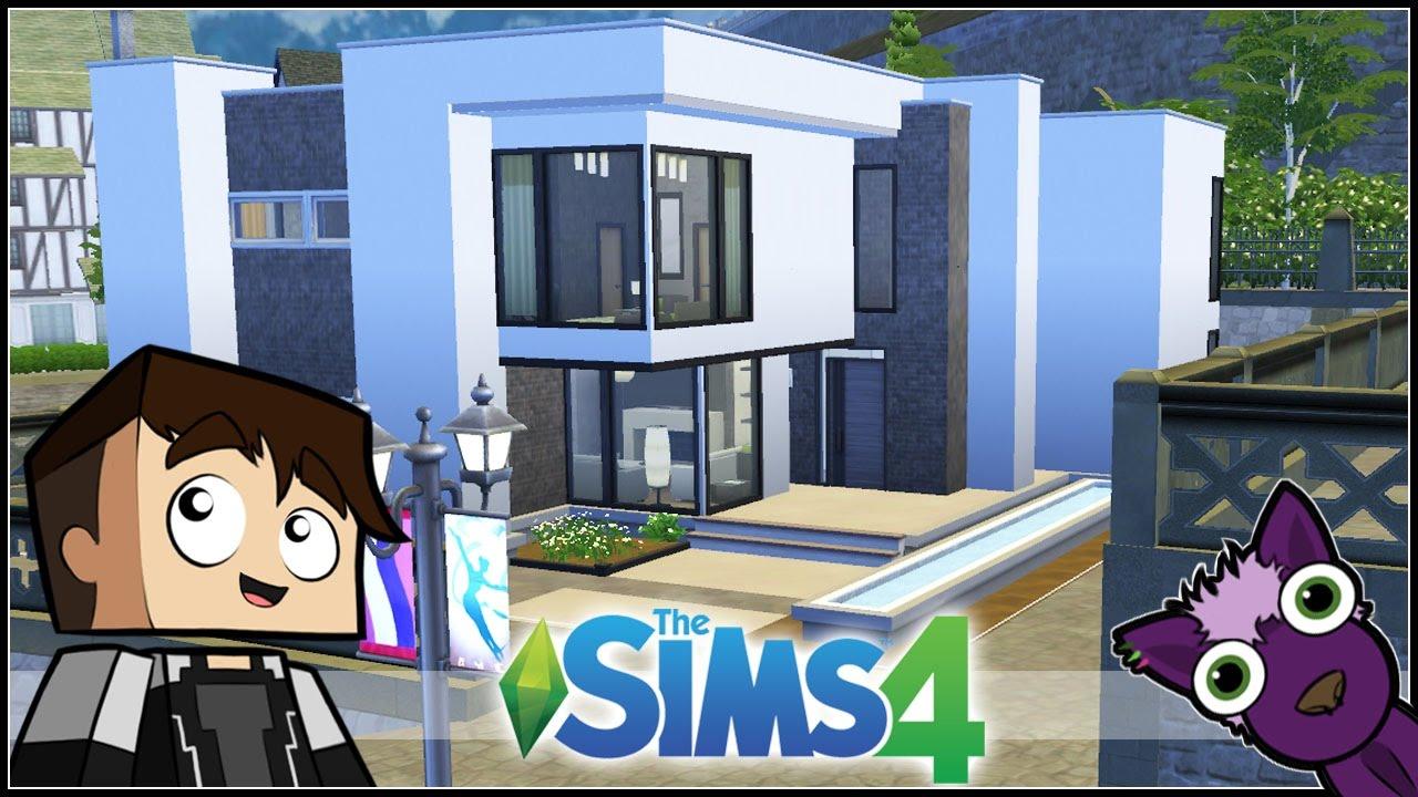Los sims 4 speed build mis construcciones casa for Construcciones modernas