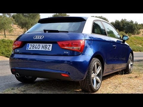 audi a1 1 6 tdi 105 cv prueba youtube. Black Bedroom Furniture Sets. Home Design Ideas