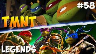 Черепашки-Ниндзя: Легенды. Прохождение #58 (TMNT Legends IOS Gameplay 2016)