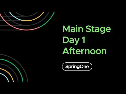 SpringOne 2020 - Day 1 Afternoon Full Keynote