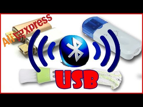 USB Bluetooth адаптер с AliExpress