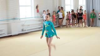 Программа второго юношеского разряда по художественной гимнастике. Упражнение без предмета.