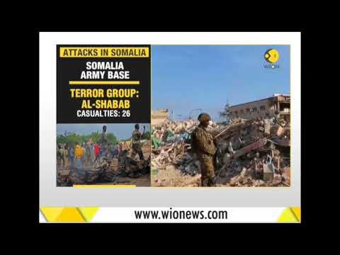 276 people killed, 300 injured in a truck explosion in Somalia's capital Mogadishu