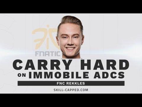 How FNC Rekkles Avoids Getting Bodied on Immobile ADCs