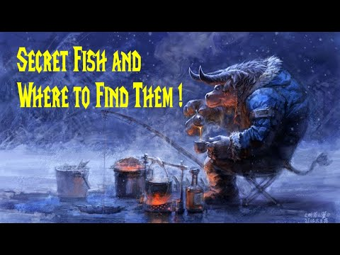 WoW 8.2 Guide: Secret Fish And Where To Find Them!