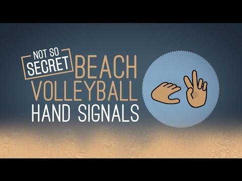 Beach Volleyball: Hand Signals