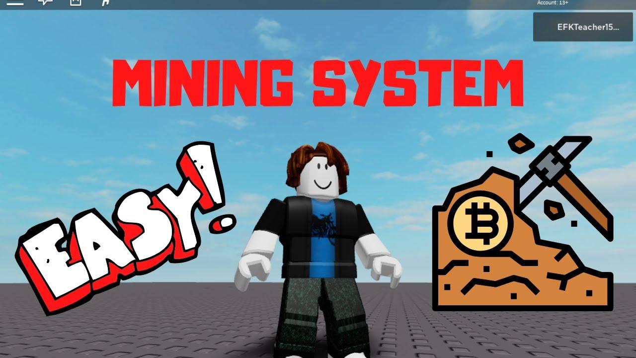 Roblox Studio Tutorial: Mining Game (Update) YouTube
