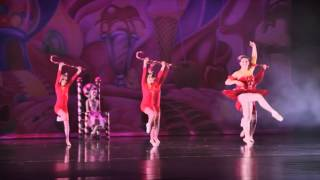 2015 Dance of the Candy Canes Suites of the Nutcracker - Ballet Expressenz