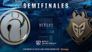 INVICTUS GAMING VS G2 | MAPA 1 | SEMIFINALES WORLDS  | LEAGUE OF LEGENDS WORLDS (2018)