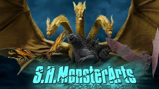 S.H. Monsterarts Godzilla: King of the Monsters (2019) Line Up