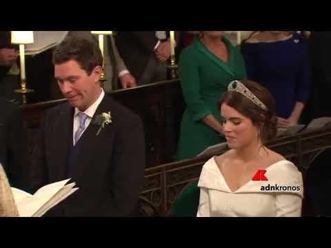 2598dbf31fbc Eugenia di York sposa il suo Jack - YouTube