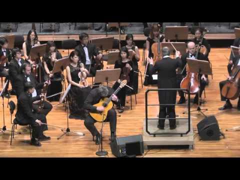 Villa Lobos Concerto for Guitar Paul Cesarczyk/Alfonso Scarano/TPO
