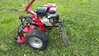 Мотоблок Фермер с роторной косилкой
