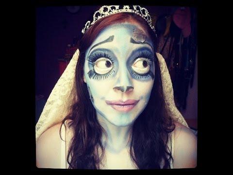 Maquillaje Emily (El cadaver de la novia) colaboración