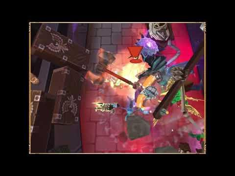 Arcane Legends - Testing Ebon Scepter Mausoleum 3-6!!