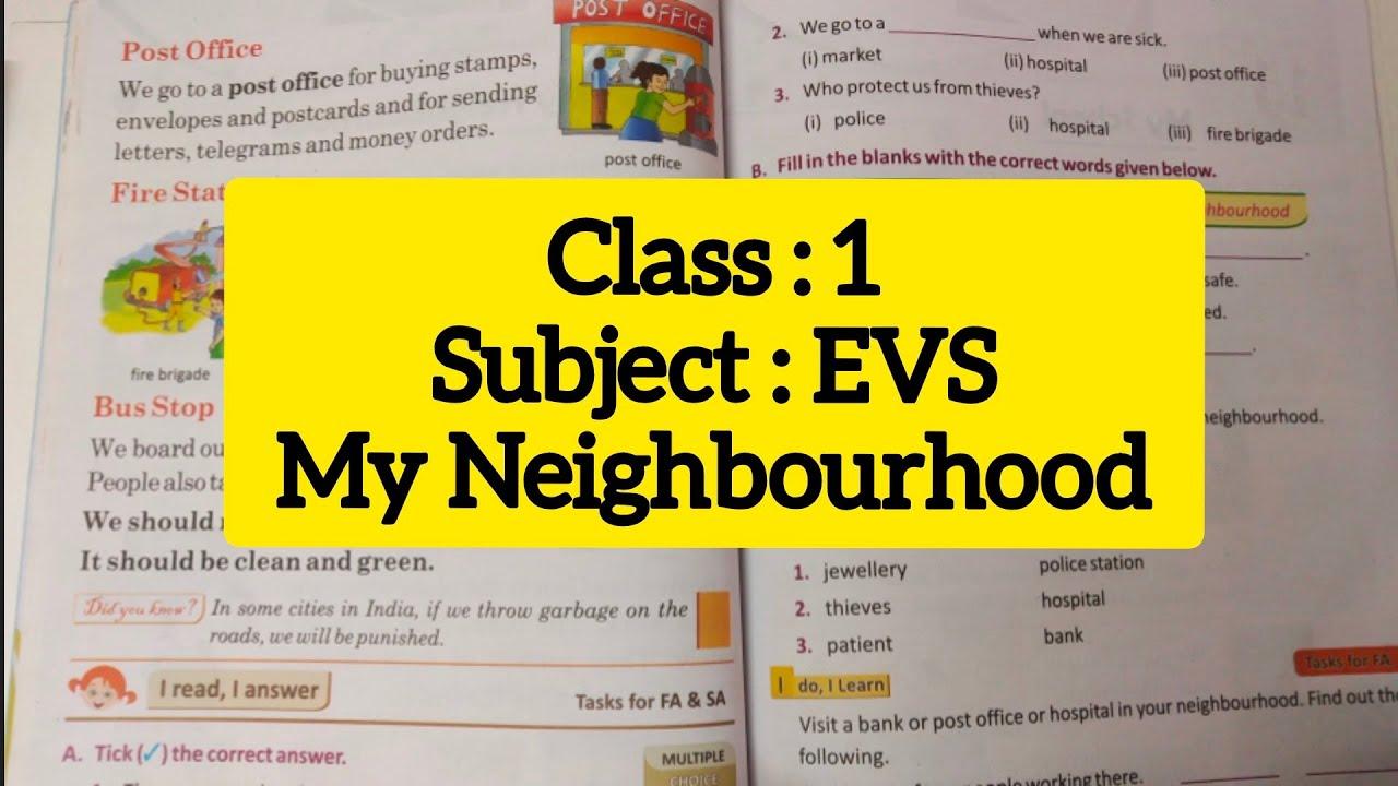 Class 1 EVS My Neighbourhood // Neighbourhood Services - YouTube [ 720 x 1280 Pixel ]