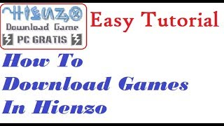 How to Download Game Pc in HIENZO