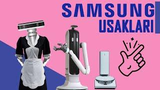 Ev İşi Yapan ROBOT - Evinizin Yeni Uşağı - Samsung BOT HANDY ve BOT CARE CES 2021