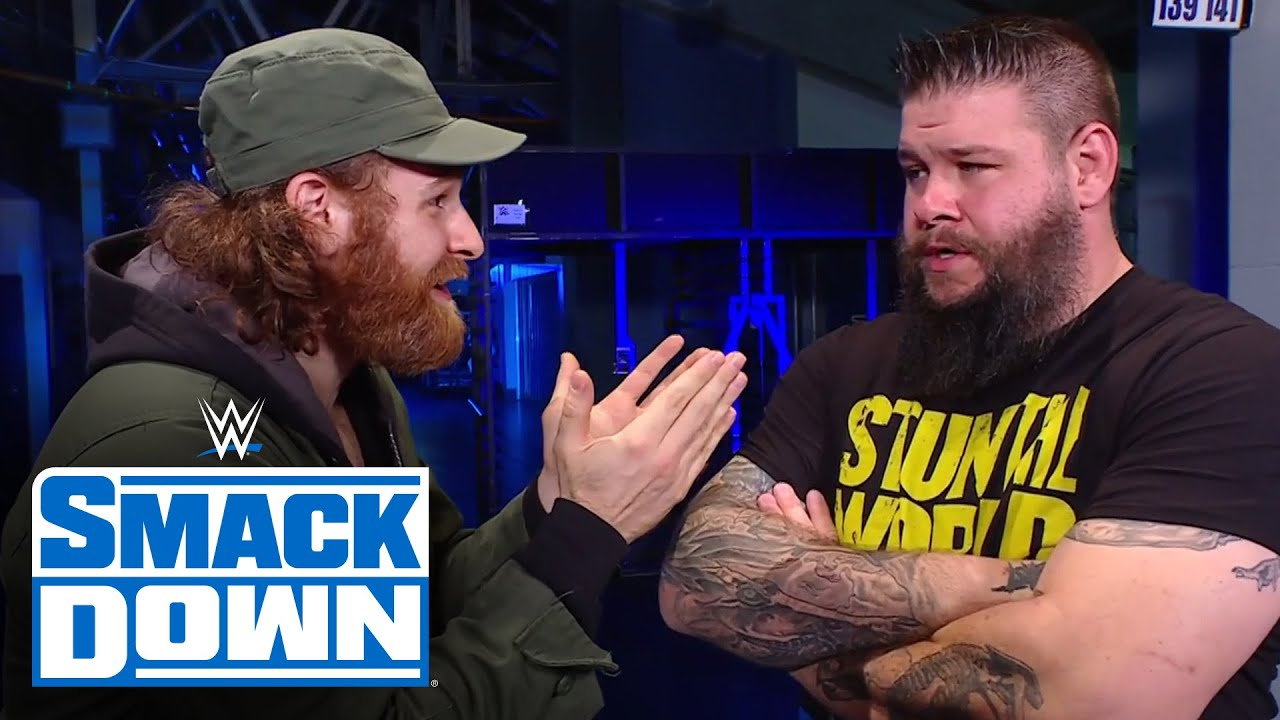 Sami Zayn attempts to convince Kevin Owens of the conspiracy against him: SmackDown, March 19, 2021