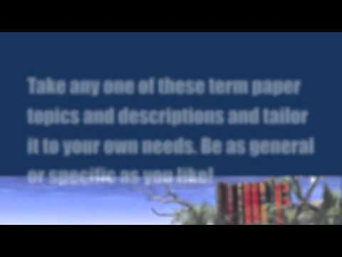 Paper Masters - Nursing Term Papers