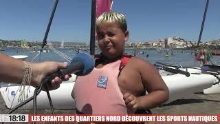 Le 18:18 - Marseille : quand des jeunes de La Castellane découvrent les sports nautiques