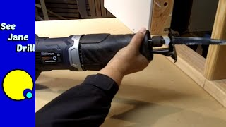 How to Use a Reciprocating Saw to Cut Metal, Wood, PVC, etc for Beginners