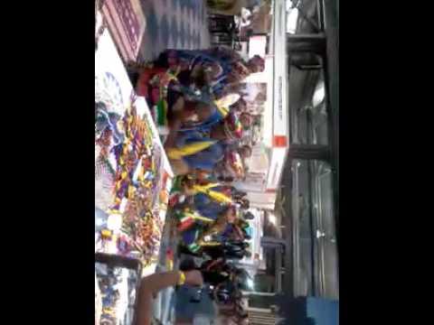 Zulu women dancing at the Durban Indaba 2017