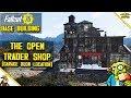 Fallout 76 base building - Trader Shop (Fallout 76 Garage Door Location)