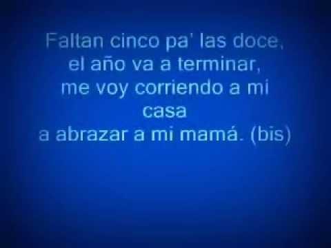FALTAN 5 PA LAS villancico honduras karaoke