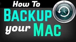 How to Backup a Mac with Time Machine