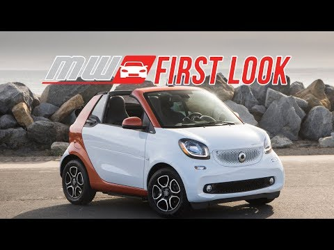 2018 Smart ForTwo Electric Cabrio   First Drive