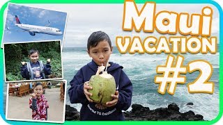 Beach day and Luau fun for Kids in Hawaii, Maui Vacation Part 2 - TigerBox HD