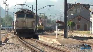251 bobinero, carrilero. Bitrac Comsa Rail Transport. Busdongo y Villamanín (León) 27/07/2015