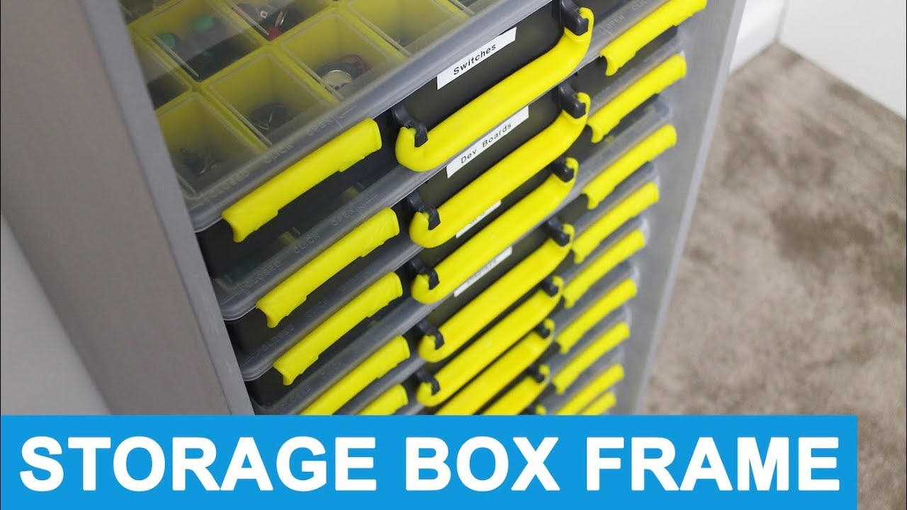 Storage Box Frame - Duratool Assortment Case Holder - YouTube