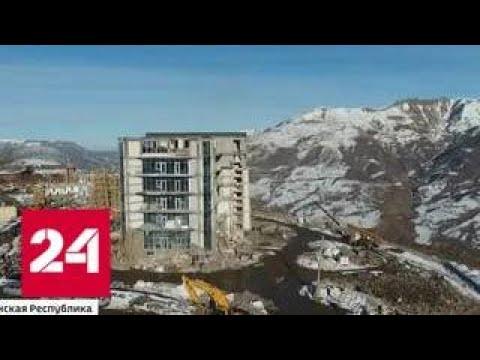 В Чечне готовятся к открытию первого в республике горнолыжного комплекса Ведучи