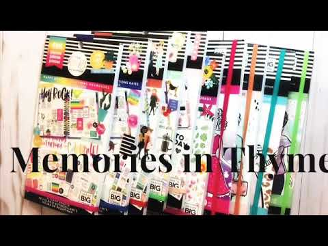 Happy Planner New Spring Release Hobby Lobby Haul ~Part 2~