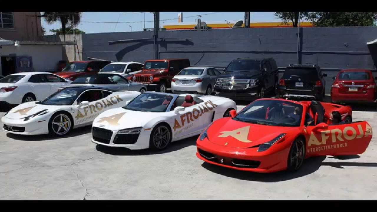 Luxury Car Rental In Miami >> 2014 Afrojack and American Luxury & Exotic Car rental MIAMI - YouTube