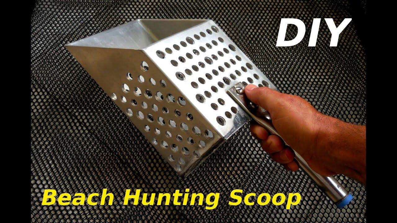 Homemade Metal Detector Scoop Home Made Diy Detecting Treasure Youtube 1280x720