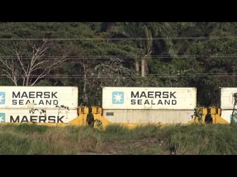 Panama Canal Railway - Ferrocarril de Panama - Rail Road Panama Canal