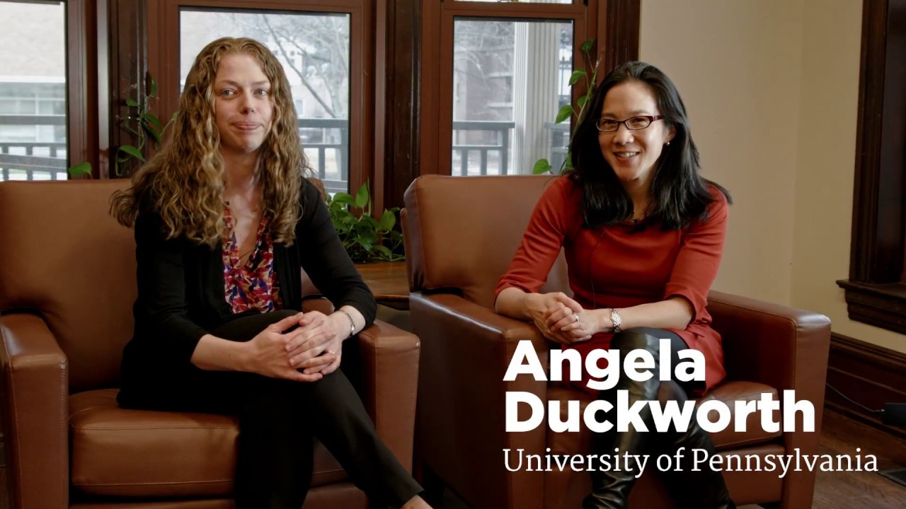 Angela Duckworth and Katy Milkman on Behavior Change - YouTube