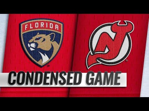 10/27/18 Condensed Game: Panthers @ Devils