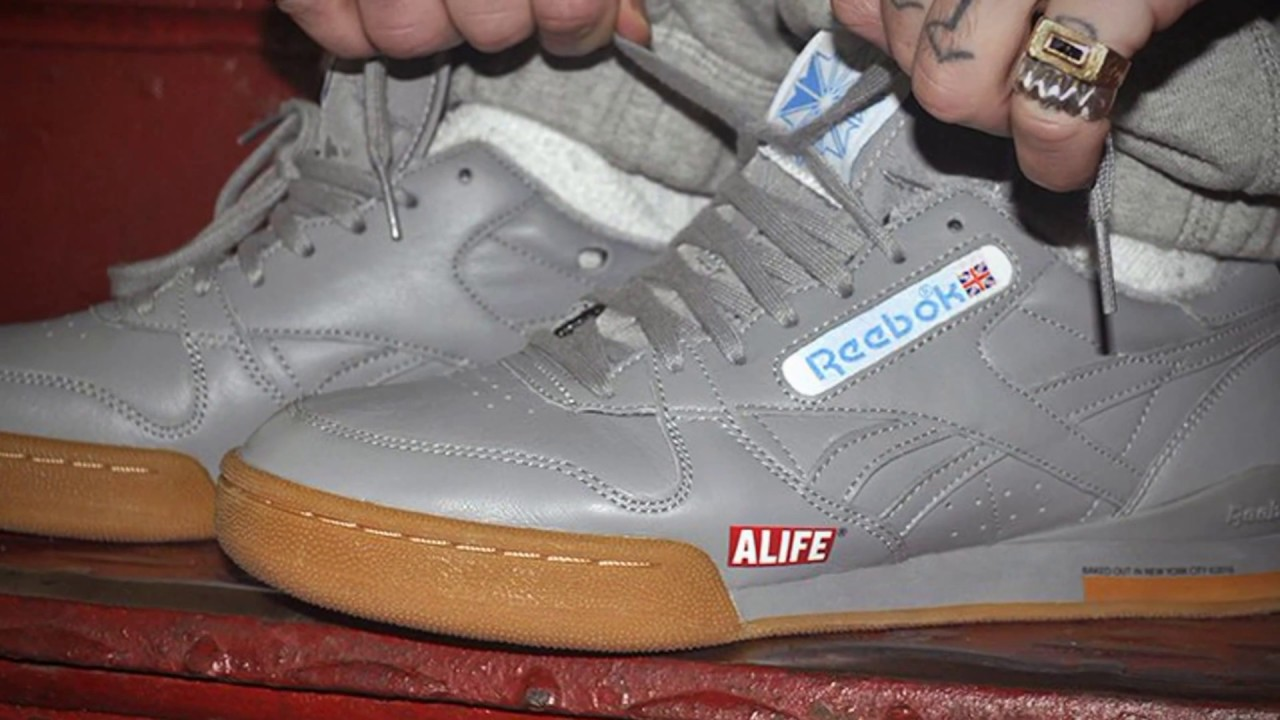 sports shoes b7f41 efa3e ALIFE X REEBOK PHASE 1 PRO (NY, NY PACK) - YouTube
