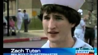 4 Sea Scouts Receive Quartermaster Rank