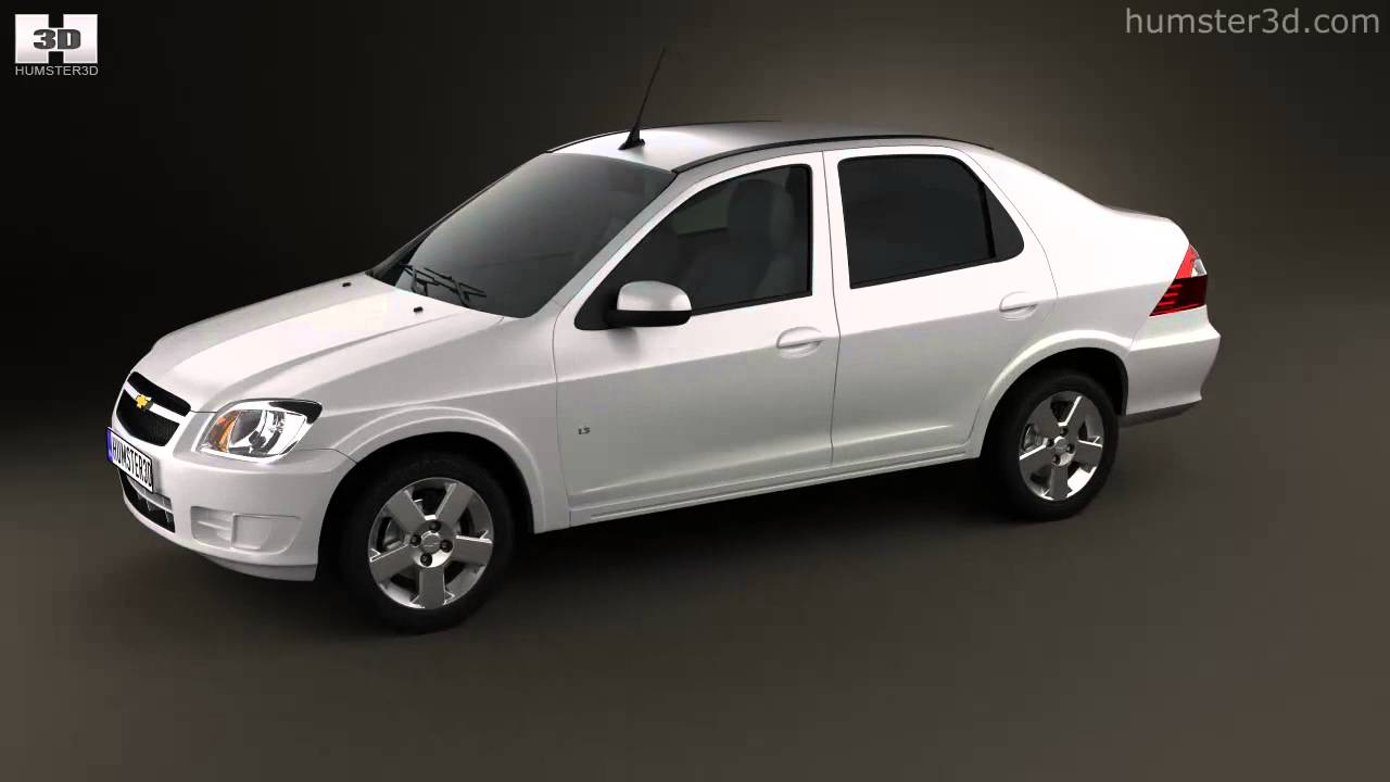Chevrolet prisma 2013 by 3d model store humster3d com