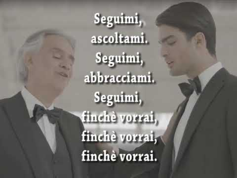 Fall on me (ITALIAN VERSION) - Andrea e Matteo Bocelli con TESTO