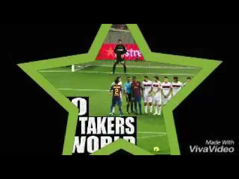 Top free kick curve