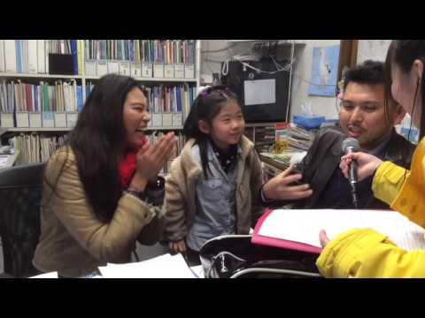 Osaka English House has appeared on the radio.