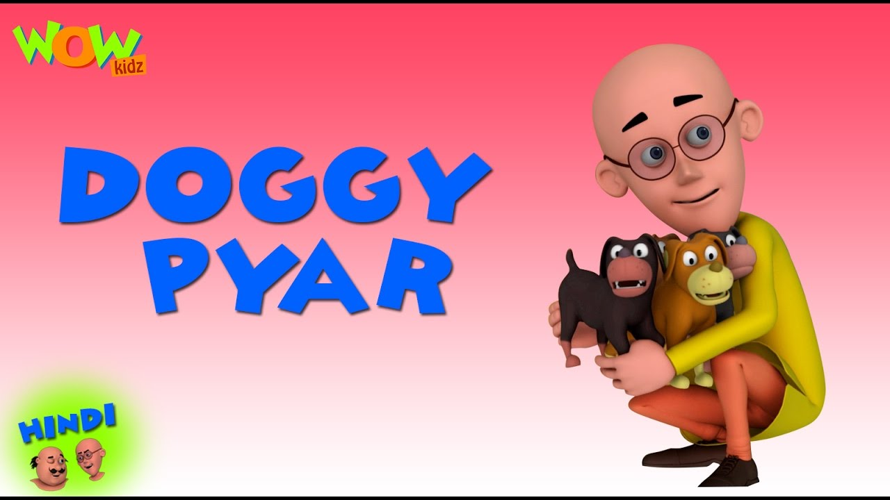 Motu Patlu Ka Doggy Pyar Motu Patlu In Hindi 3d Animation