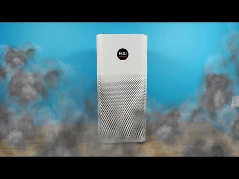 Очиститель воздуха Xiaomi против дымовой шашки в туалете!  Эксперимент.
